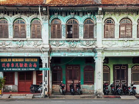 The capital of the island of Penang, George Town is Malaysia's second-largest city, and is known for its street art, British colonial architecture, and drinking and dining scenes. Its historic center is a UNESCO World Heritage site, where eighteenth-century buildings recall the city's former role as a trading post of the British East India Company.