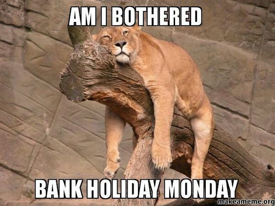 What is a bank holiday?