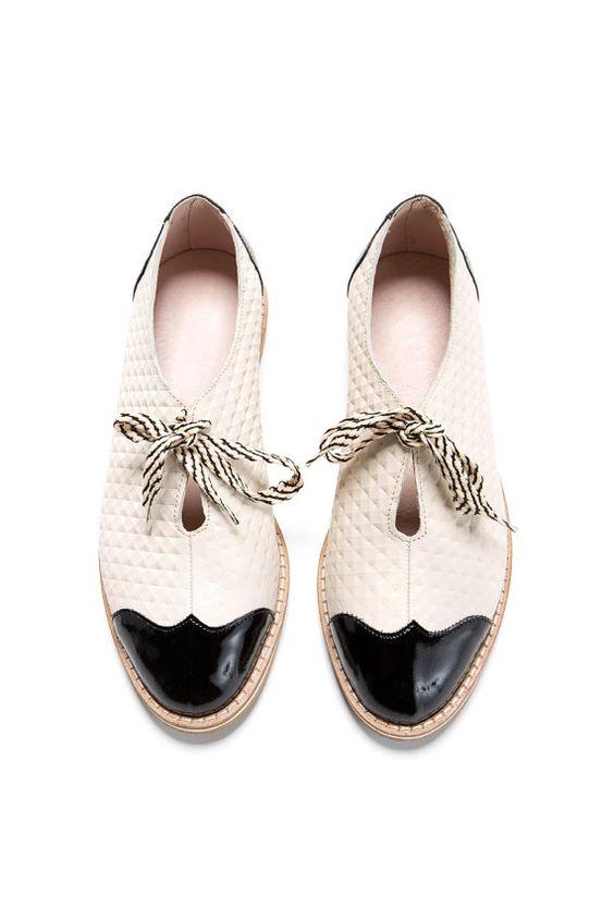 Oxford plana zapatos venta feliz 2016 30% OFF por ImeldaShoes