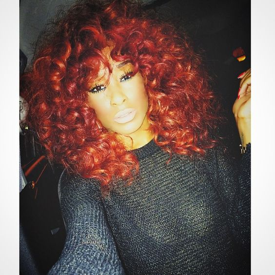 Curly Red Head