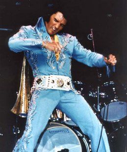 Elvis Jumpsuits Costumes Fashion on Stage