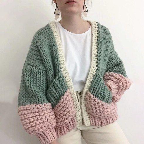 Knit Or Crochet Cardigan