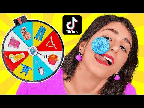 We Tested Viral Tiktok Life Hacks And Tricks Spin The Mystery Wheel By 123 Go Challenge Youtube 5 Minute Crafts Videos Life Hacks Challenges