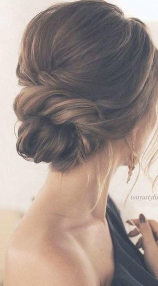 Wedding Hairstyles Bun Bridesmaid Low Updo 44 Ideas Classy Updo Hairstyles Wedding Hair Inspiration Classic Wedding Hair