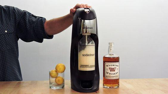 Sodastream cocktails