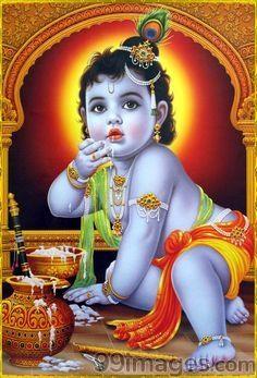 1080p Baby Krishna Images Hd : 1080p, krishna, images, Rajender, Kumar, Krishna, Krishna,, Wallpaper,, Painting