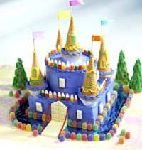 I thought this would be a cute cake for my little princess.