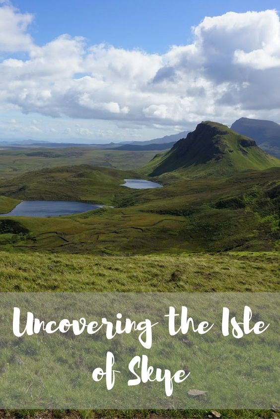 Uncovering the Isle of Skye