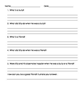 Printables Bullying Worksheets Middle School bullying friends and book on pinterest billy bully worksheet