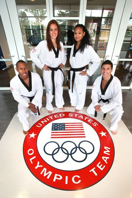 2012 US Taekwondo Olympic Team -Good Luck!...... I will be there one day