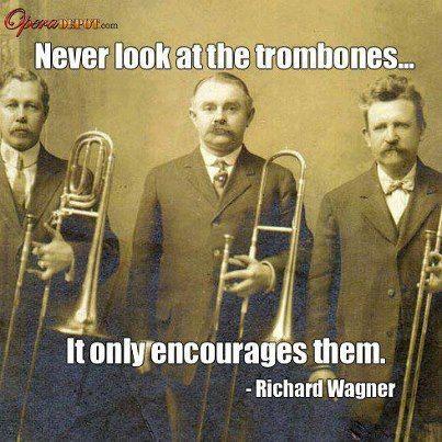Oh those Trombones!