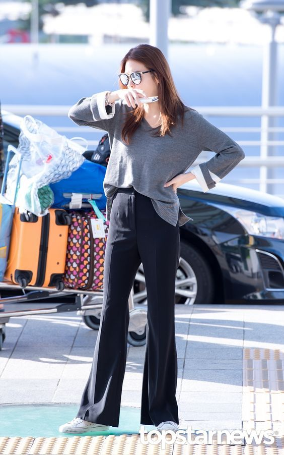 [HD포토] 강소라 꾸민 듯 안 꾸민 듯 편안한 출국 패션 #topstarnews