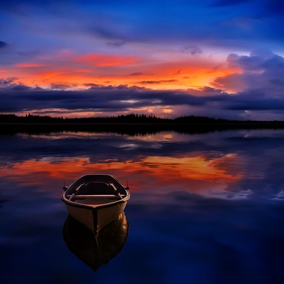 Peaceful Sunset by Carlos Gotay on 500px