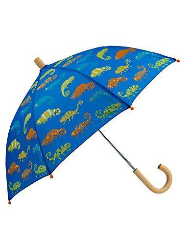 Hatley Boys' Crazy Chameleons Umbrella * Find out more details @