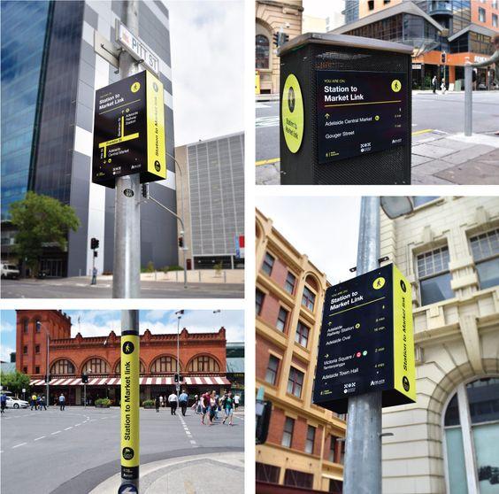 City of Adelaide: Wayfinding Strategy - Studio Binocular