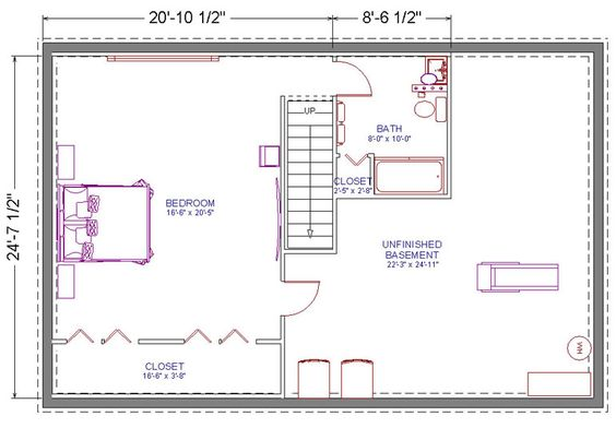 Basement Master Bedroom Design Plan | Renovate your basement into a Master Suite
