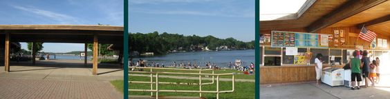 Hopatcong State Park- great lake to bring the kids to enjoy the water.  2 playgrounds too... active concession stand
