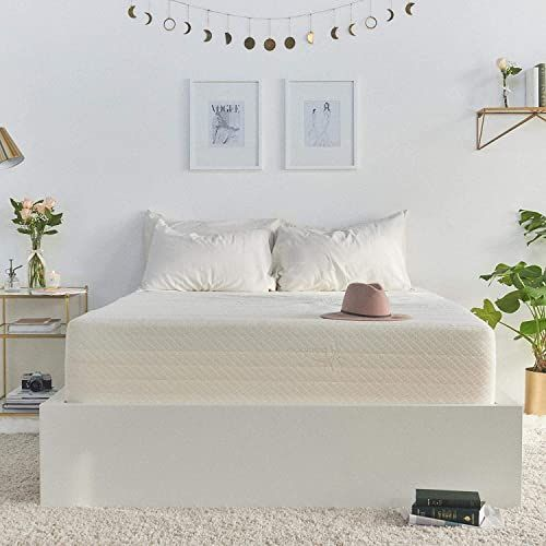 Great For Brentwood Home Cypress Cooling Gel Memory Foam Mattress Non Toxic Made In California 13 Inch Cal King Bamboo Mattress Mattress Twin Bed Mattress