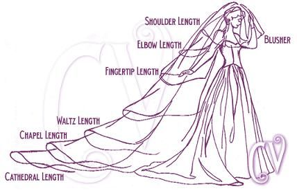 All those wedding veil questions answered.
