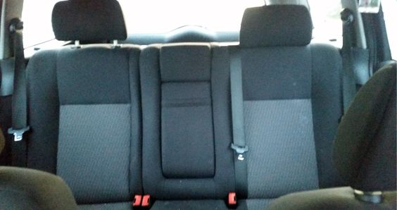 Ford Mondeo Mk3 Rücksitzbank vor der Montage #designbezuege #designbezuege nach maß #Tuning, #Stickerei, #Tuning, #FORD Mondeo,  #Rautenmuster, #Leder,  #Autositzbezüge