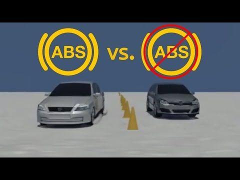 الفرق بين الفرامل العادية وال Abs ظهور علامة ال Abs في السيارة نظام مانع الانزلاق Youtube Abs Medical Technology Car