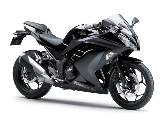 The new Ninja 300 Kawasaki-MAMA LIKEY:) I'll take it in white thank you :)