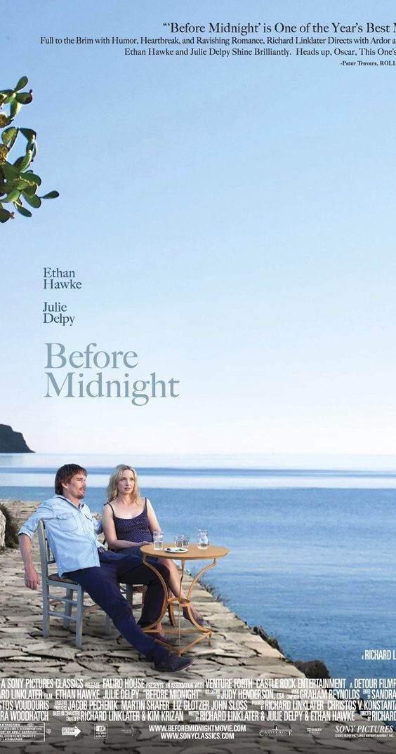 Film popcorn Before Midnight (2013) deel 3 trilogie