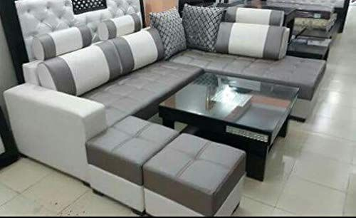 Quality Assure Maharajah P L Shape Sofa Set With Center Table 2 Puffy Sofa Design Furniture Sofa Set