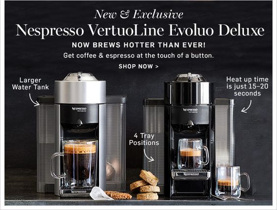 Nespresso Evoluo Deluxe - Coffee Machine Price