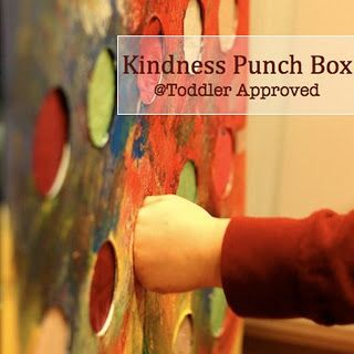 kindness punch box- LOVE THIS IDEA!