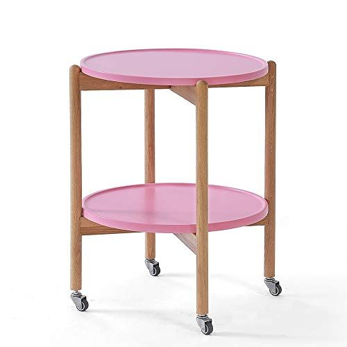 Heywood Wakefield Round 2 Tier Maple Side Table T173 Maple Furniture Side Table End Table Makeover