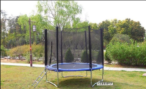 2.5 M Outside the Big Trampoline Trampoline with Safety Net Support on Behalf of the Factory Direct Supply