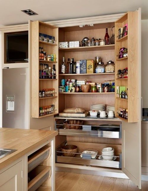 50 Kitchen Pantry Cabinet Image Ideas How To Organize Tips With
