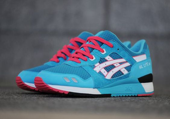 "BAIT Restocks Asics Gel Lyte III ""Teal Dragon"""