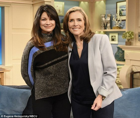 Meredith vieira feel good and rockers on pinterest for Who is valerie bertinelli married to