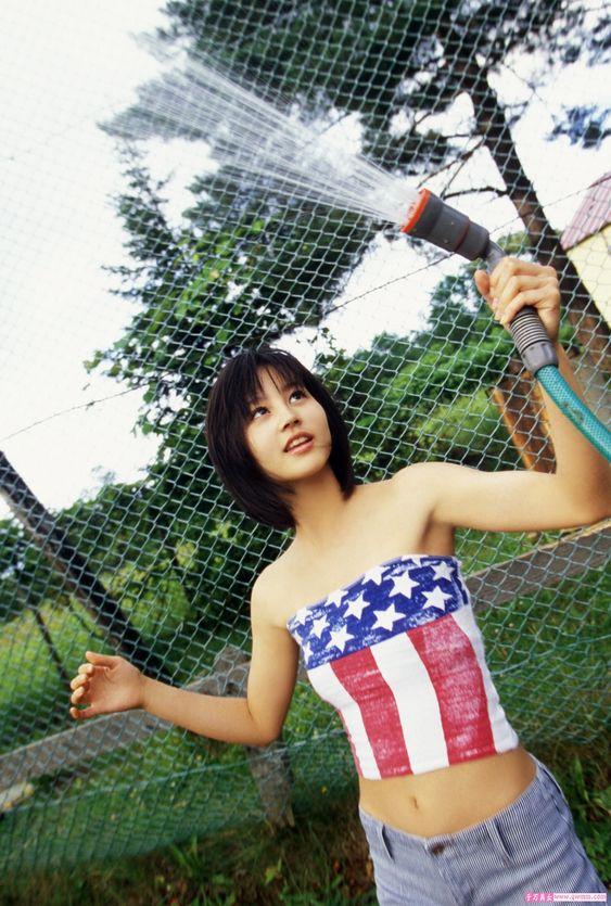 デビュー当時の堀北真希