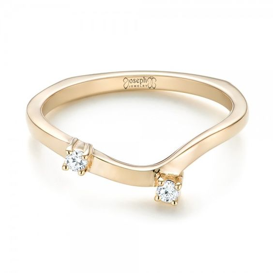 custom interlocking diamond wedding band joseph jewelry bellevue seattle online design