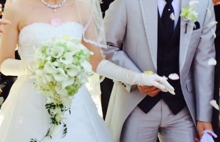 新郎新婦様からのメール アニヴェルセルみなとみらいの花嫁様から、ブーケへの言の葉 : 一会 ウェディングの花