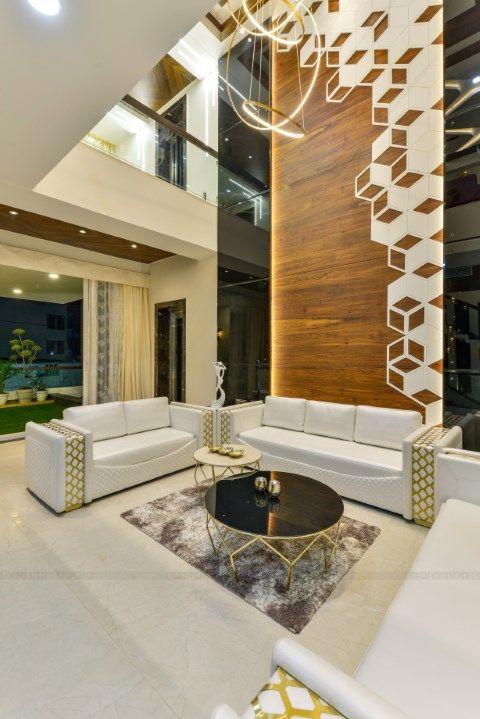 Contemporary Indian House In Indore Interior Design Studio