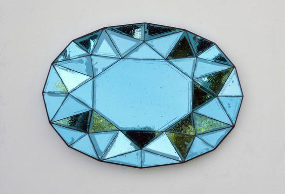 Sam Orlando Miller, 'Untitled Mirror 1 Sky Blue,' 2014, Gallery FUMI