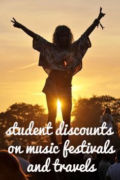 Save when you travel to music festivals !! Where was this last summer??