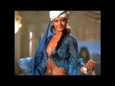 Catherine Zeta Jones Bellydancing In 1001 Arabian Nights 1990 Youtube Arabian Nights Catherine Zeta Jones Wedding Art