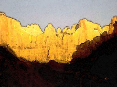 'Rocky Landscape' von Dirk h. Wendt bei artflakes.com als Poster oder Kunstdruck $19.41