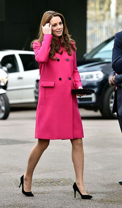 Pregnant Kate Middleton makes last public appearance before the birth of her second baby on March 27, 2015 - Photo 1 | Celebrity news in hellomagazine.com
