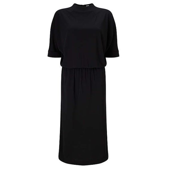 BuyKin by John Lewis Batwing Sleeve Dress, Black, 8 Online at johnlewis.com