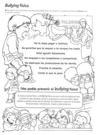 Foto Revista De Figuras Bullying Julio 2013 Editorial Ediba Da Lo Que Te Gustaría Recibir Htt Actividades Escolares Etica Y Valores Educacion Emocional