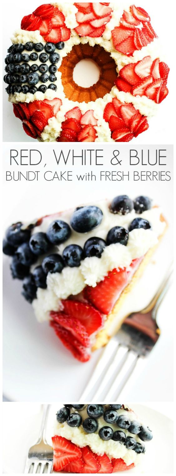 july 4th bundt cake