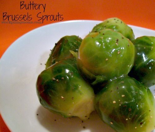 Buttery Brussel Sprouts
