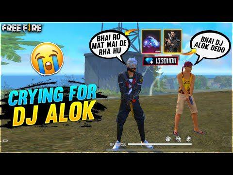 Small Boy Crying For Dj Alok Diamonds I Gave Him Dj Alok 12000 Diamonds Garena Free Fire Youtube Boy Crying Small Boy Dj Wallpaper cave fire character dj