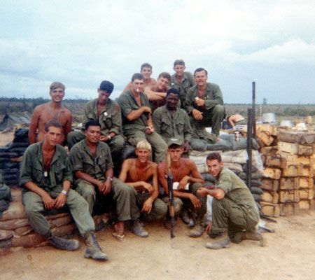 Bravo CO-1968 Unit Name: 1ST INFANTRY DIVISION  2nd/16th Inf